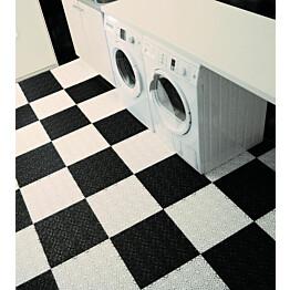 Monitoimilaatta Flooria Bergo XL System 2 Silk Black 38x38cm