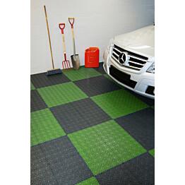 Monitoimilaatta Flooria Bergo XL System 2 Spring Grass 38x38cm