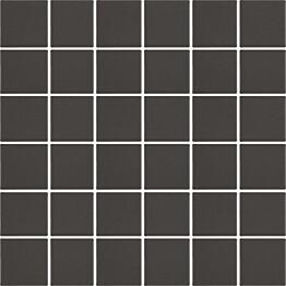 Mosaiikkilaatta LPC Art Flat 7005 4,7x4,7 cm verkolla ruskea