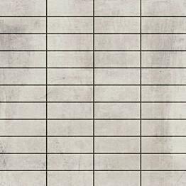 Mosaiikkilaatta LPC Living Hopeanharmaa 2,7x7,5 cm verkolla