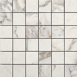 Mosaiikkilaatta LPC Temple Valkoinen 5x5 cm matta