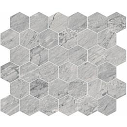 Mosaiikkilaatta Pukkila Bernini Stone Bardiglio himmeä sileä 300x330 mm