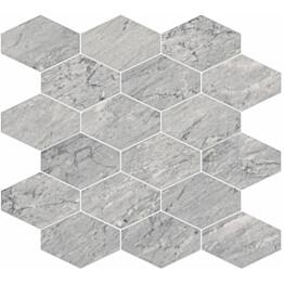 Mosaiikkilaatta Pukkila Bernini Stone Bardiglio himmeä sileä 330x370 mm