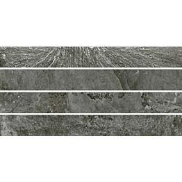 Mosaiikkilaatta Pukkila Blackboard Anthracite Muretto himmeä sileä 600x300 mm