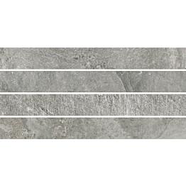 Mosaiikkilaatta Pukkila Blackboard Ash Moretto himmeä sileä 600x300 mm
