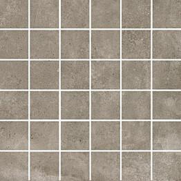 Mosaiikkilaatta Pukkila Europe Greige himmeä sileä 50x50 mm
