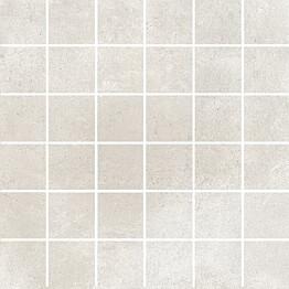 Mosaiikkilaatta Pukkila Europe White himmeä sileä 50x50 mm
