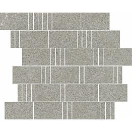 Mosaiikkilaatta Pukkila Landstone Grey Pave himmeä sileä 298x298 mm