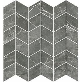 Mosaiikkilaatta Pukkila Marble Boutique Fior Di Bosco Chevron kiiltävä sileä 298x298 mm