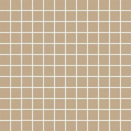 Mosaiikkilaatta Pukkila Mosaico Porcelanico Beige himmeä sileä 25x25 mm
