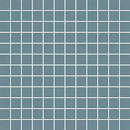 Mosaiikkilaatta Pukkila Mosaico Porcelanico Blue himmeä sileä 25x25 mm