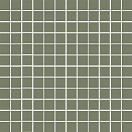 Mosaiikkilaatta Pukkila Mosaico Porcelanico Green himmeä sileä 25x25 mm