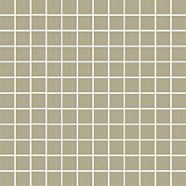 Mosaiikkilaatta Pukkila Mosaico Porcelanico Grey-Green himmeä sileä 25x25 mm