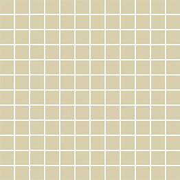 Mosaiikkilaatta Pukkila Mosaico Porcelanico Pearl himmeä sileä 25x25 mm