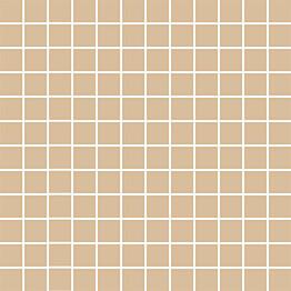 Mosaiikkilaatta Pukkila Mosaico Porcelanico Straw Yellow himmeä sileä 25x25 mm
