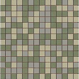 Mosaiikkilaatta Pukkila Mosaico Porcelanico Värimix 120-131-215 himmeä sileä 25x25 mm