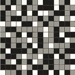 Mosaiikkilaatta Pukkila Mosaico Porcelanico Värimix 140-131-201 himmeä sileä 25x25 mm