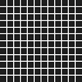 Mosaiikkilaatta Pukkila Pro Technic Color Black kiiltävä sileä 23x23 mm