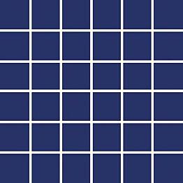 Mosaiikkilaatta Pukkila Pro Technic Color Cobalt Blue himmeä karhea 47x47 mm