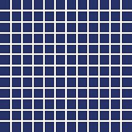 Mosaiikkilaatta Pukkila Pro Technic Color Cobalt Blue himmeä sileä 23x23 mm