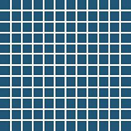 Mosaiikkilaatta Pukkila Pro Technic Color Ocean Blue kiiltävä sileä 23x23 mm