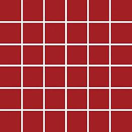 Mosaiikkilaatta Pukkila Pro Technic Color Red Matt himmeä sileä 47x47 mm