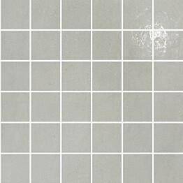 Mosaiikkilaatta Pukkila Puntozero Nuovola puolikiiltävä sileä 50x50 mm