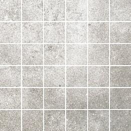 Mosaiikkilaatta Pukkila Reden Grey himmeä sileä 47x47 mm