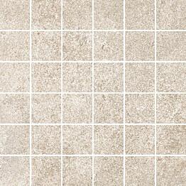 Mosaiikkilaatta Pukkila Reden Ivory himmeä sileä 47x47 mm