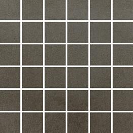 Mosaiikkilaatta Pukkila Universal Antracite himmeä sileä 50x50 mm