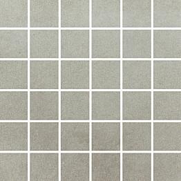 Mosaiikkilaatta Pukkila Universal Grey himmeä sileä 50x50 mm