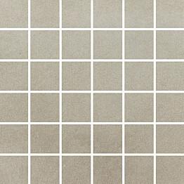 Mosaiikkilaatta Pukkila Universal Light Grey himmeä sileä 50x50 mm