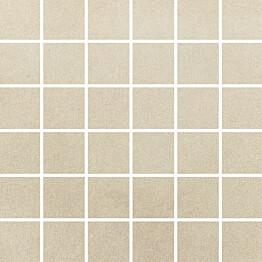 Mosaiikkilaatta Pukkila Universal Sand himmeä sileä 50x50 mm