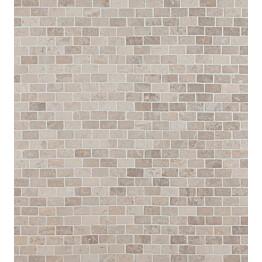Mosaiikkilaatta Qualitystone Brick Mini White 20x40 mm