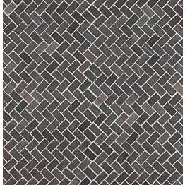 Mosaiikkilaatta Qualitystone Herringbone Grey Mini 20x40 mm