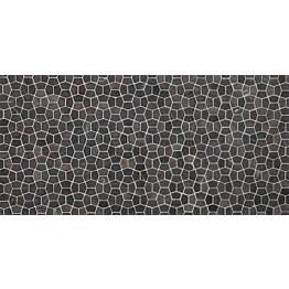 Mosaiikkilaatta Qualitystone Pentagon Mini Grey 30x50 mm