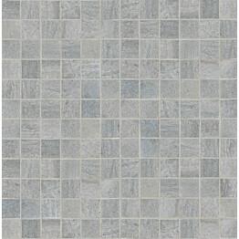 Mosaiikkilaatta Crossover Mosaico Argento 30x30/2,5x2,5 harmaa