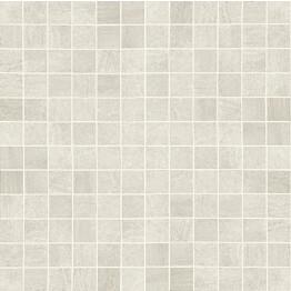 Mosaiikkilaatta Crossover Mosaico Avorio 30x30/2,5x2,5 valkoinen