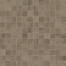 Mosaiikkilaatta Crossover Mosaico Brown 30x30/2,5x2,5 ruskea