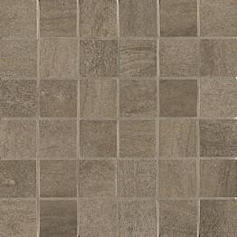Mosaiikkilaatta Crossover Mosaico Brown 30x30/5x5 ruskea