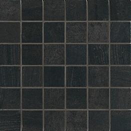 Mosaiikkilaatta Crossover Mosaico Nero 30x30/5x5 musta