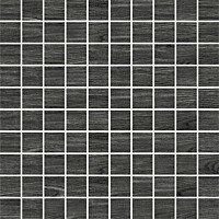 Mosaiikkilaatta Pukkila Emotion Black himmea silea 30x30mm