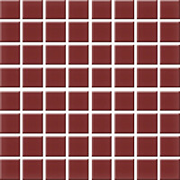 Mosaiikkilaatta Pukkila Nova Arquitectura Burgundy himmea silea 22x22mm