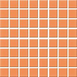 Mosaiikkilaatta Pukkila Nova Arquitectura Tangerine himmea silea 22x22mm
