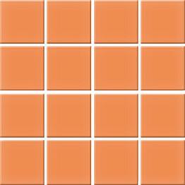 Mosaiikkilaatta Pukkila Nova Arquitectura Tangerine himmea silea 47x47mm