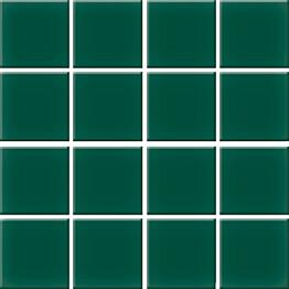 Mosaiikkilaatta Pukkila Nova Arquitectura Victorian Green himmea silea 47x47mm