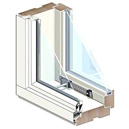 Puualumiini-ikkuna MSEAL MA 3x14 Ti
