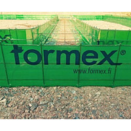 Anturamuotti Formex jatkuva maanvarainen seinäantura 250x600x5000mm teräkset 3xT8