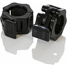 Muovilukot pump-settiin Gymstick Flip-Lock Collars 30mm