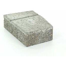 Muurikivi Rudus Muurikko kulmakivi 352x235x100 mm sileä harmaa